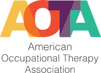 AOTA Vertical logo