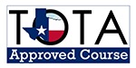 TOTA Approved Course Logo